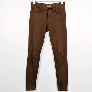 Mother the Looker Texas Rein Faux Suede Pants
